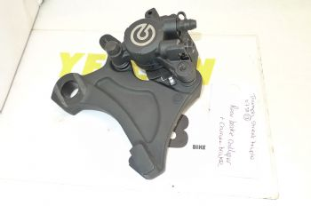 TRIUMPH STREET TRIPLE R 675  REAR BRAKE CALIPER & CARRIER BRACKET   (CON-B)